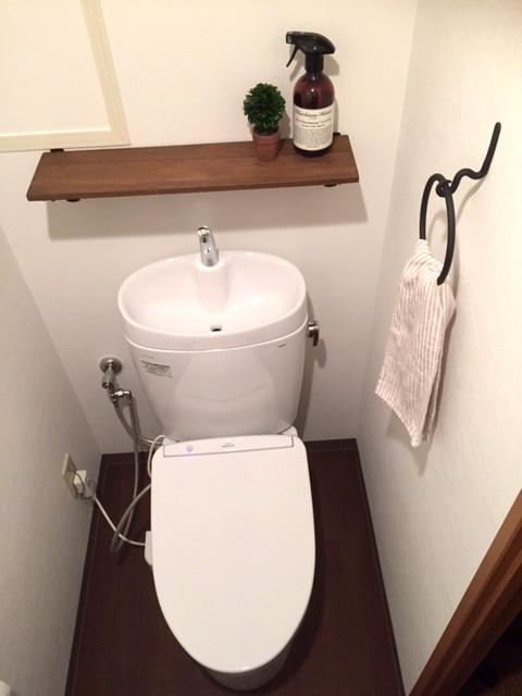 落ち着いたおしゃれなトイレ